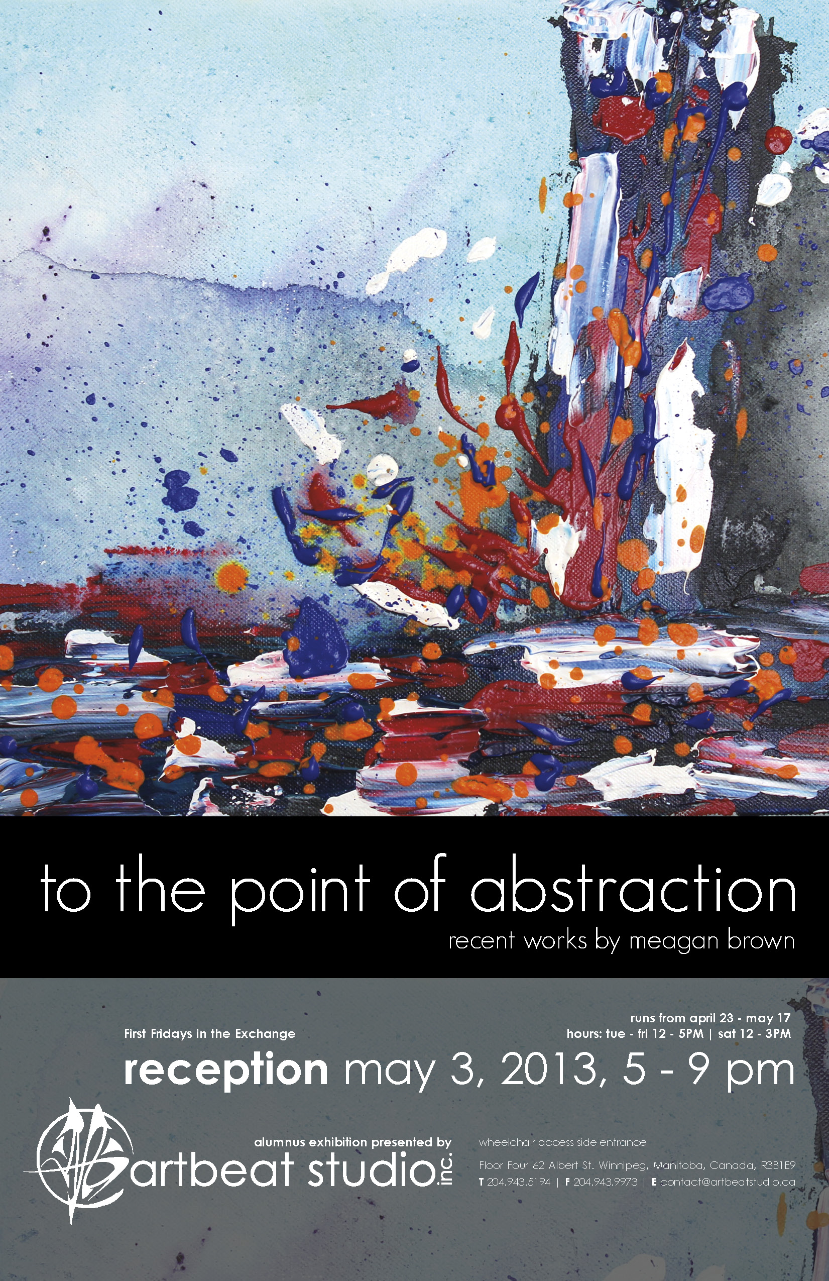 To the Point of Abstraction Web Poster