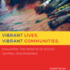 Vibrant Lives, Vibrant Communities