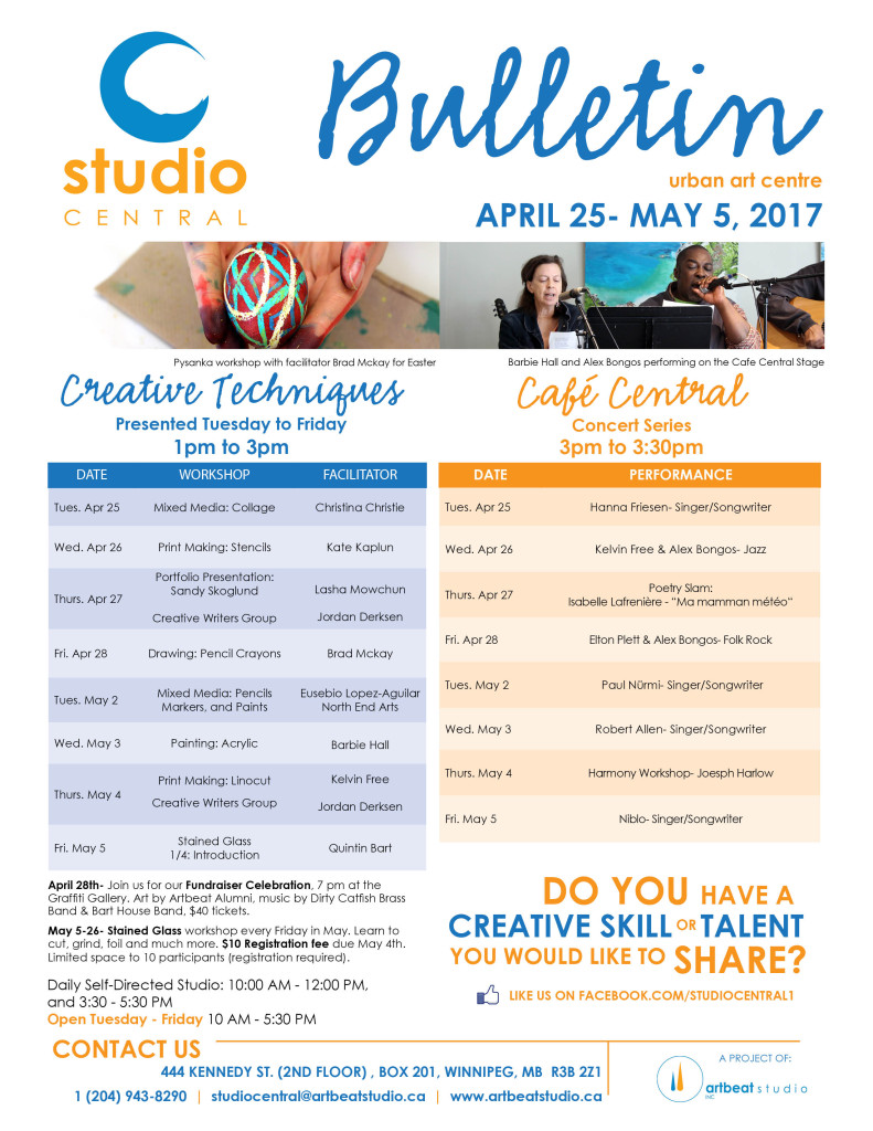 Studio Central-Apr 25-May 5, 2017 small